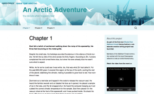 Arctic Adventure Homepage